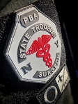 State Trooper Surgeon Logo Velcro PVC Patch